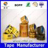 El acrílico a base de agua BOPP de la buena adherencia coloreó la cinta