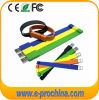 Braccialetto poco costoso promozionale del USB dell'azionamento della penna del Wristband del silicone (PER ESEMPIO 019)