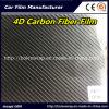 Prezzo di fabbrica! ! ! Pellicola nera del vinile della fibra del carbonio 4D