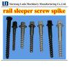 Xinxinag Luda Rail Sleeper Screw Spike pour Railway Fastening