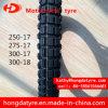 Neumático al por mayor 300-17 300-18 de la motocicleta del certificado del ECE