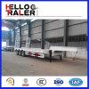 3 essieux remorque inférieure de camion de chargeur de 60 tonnes