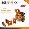 Máquina de fatura de tijolo manual da argila de Hr1-20 Hydraform preço barato