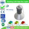 Luz elevada da baía do diodo emissor de luz da liga de alumínio com garantia de 3 anos