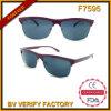 Óculos de sol F7595 retros com os óculos de sol polarizados do CE de Italy Desiger da lente