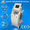 毛IPL+RF+YAGレーザーの入れ墨の取り外し機械(Elight03)