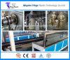 Riga dell'espulsione del tubo del carbonio rotondo dell'HDPE/macchina di espulsione ondulate