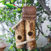 정원을%s 예술적인 Bamboo Handmade Bird House