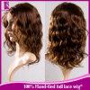 Virgin 인도 머리 가발, 꼬부라진 사람의 모발 레이스 가발 (GP-L104)