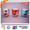 Tasse de café ronde de tasse de porcelaine