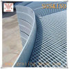 Gezackte galvanisierte Stahlvergitterung für Treppen-Schritt
