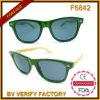 Braços unisex de Bmboo dos óculos de sol da forma do estilo F6842 novo