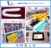 Onduleur flexible en plastique de boyau de la machine de drain de bassin/pp