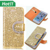 Neues Fashion Fall für iPhone, Diamond Crystal Flip Leather Fall für iPhone 4 5 6