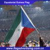 ポリエステルを広告するフルカラーの印刷は旗、世界の各国用の国旗を遊ばす