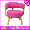 A cadeira ajustada do sofá do quarto da mobília de madeira nova, cadeira de madeira colorida do brinquedo por atacado, o sofá de madeira da sala de visitas do projeto moderno preside W08f037