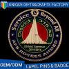도매 OEM/ODM 주문 아연 합금 경찰 접어젖힌 옷깃 Pin