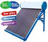 Geyser solar solar Non-Pressurized do calefator de água da câmara de ar de vácuo da baixa pressão, coletor solar