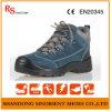 Sapatas de segurança de aço RS72 da floresta do dedo do pé do couro da camurça da vaca de China