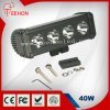 Diodo emissor de luz Driving Light Bar do CREE de ATV Accessories 40W