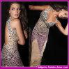 Vestido de noite luxuoso do vestido de partido do diamante de 2015 senhoras novas européias do desenhador do estilo (D2533)