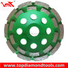 Double Row Diamond Cup Wheels for Stone Concrete