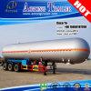 Tri-Árbol LPG que transporta el acoplado del depósito de gasolina licuefecha de petróleo