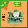 Unidad doble de la filtración del petróleo del transformador del control de la temperatura de Kxzs