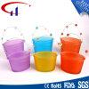 Bunte Zylinder-Form Tealight Glaskerze-Halter (CHZ8039)