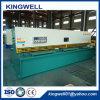 De nieuwe Europese Standaard Hydraulische Scherpe Machine van het Blad van het Metaal (QC12Y-4X4000)