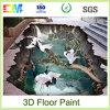 Pintura impermeable del suelo del líquido 3D