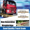 Weighbridge resistente da escala portátil eletrônica do caminhão de 80 toneladas