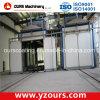 Auto/cabine manual do revestimento do pó para construções de aço
