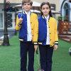 よい合わせた品質のきれいな子供の学校はユニフォームを遊ばす