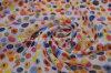 La mousseline de soie imprimée par polyester 100% habille le tissu