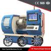 Máquina de pulido automática del torno del torno del CNC para la rueda de coche de la reparación