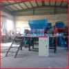 二重シャフトは束またはフルーツまたはココナッツまたはやしシュレッダー機械を空ける