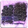 Black Womenのための100%加工されていないVirginイタリアのCurl Hair Extension