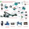 Gomma residua automatica Xkp560 che ricicla macchina con capienza 3ton
