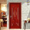 Дешевая и точная стальная дверь обеспеченностью (sh-036)