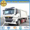 Sinotruk HOWO 6 rueda 15 toneladas que la basura del compresor cerco y que transporta el carro