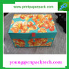 Cajón-Tipo cartulina de encargo que graba el rectángulo de regalo de papel impreso