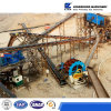 Linha de lavagem da areia da grande capacidade 80-100t/H, arruela da areia, tela de vibração