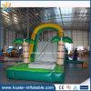 Diapositiva de agua inflable gigante para el adulto, diapositiva de agua inflable de la selva asombrosa para la venta