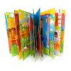 Цветастый картонный переплет детей коробки, книжное производство книга в твердой обложке