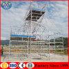 Veiligheid Framwork die van de Bouw van het Metaal van het Aluminium van de Verkoop van de Fabriek van China van Alibab de Hete de Multifunctionele Mobiele Toren van de Steiger Rolling