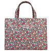 Sac de voyage à motifs floraux en toile imperméable à grande capacité (68140)