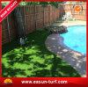 ベストセラーの庭の装飾の人工的な草の合成物質の芝生