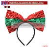 Partei-Feld-Bogensequin-Stirnband-WeihnachtenCosplay Kostüme (P4013)