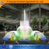 Fuente de agua colorida de los multimedia de la fuente de la música
